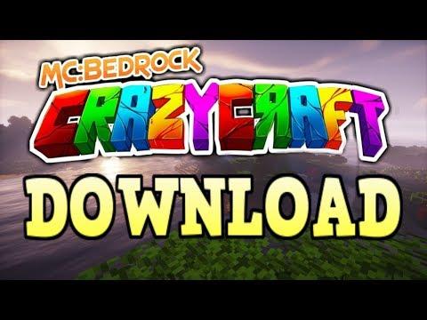 Minecraft Bedrock Edition CrazyCraft 4.0 Beta Download