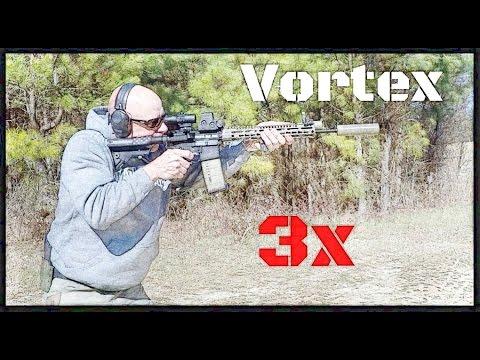 vortex optics 3x magnifier with flip mount review hd youtube