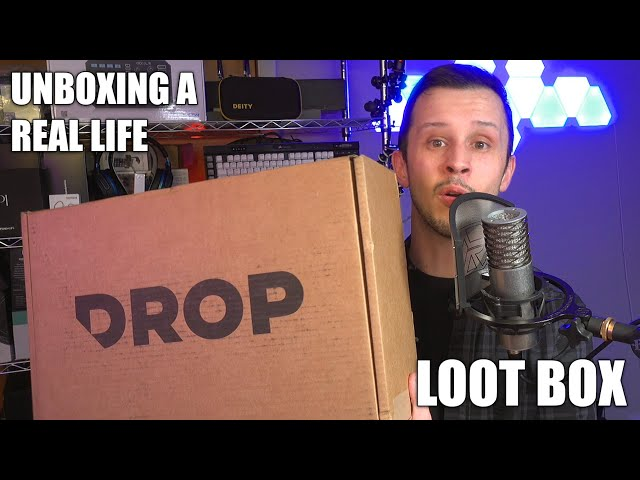 Drop.com Bounty Box 2 Unboxing - Real Life Loot Box!