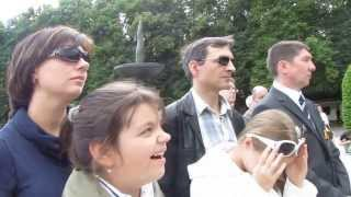 Sowjetisches Ehrenmal (Schönholzer Heide) Berlin 14.08.2013  Eh, dorogi Эх, дороги.