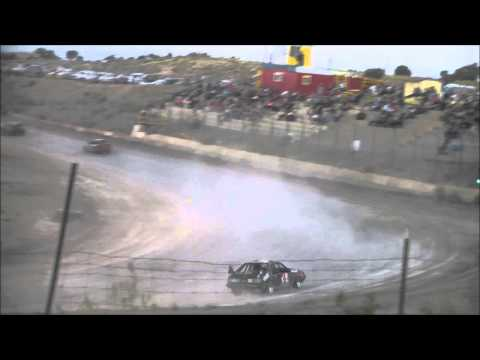Linda Merlen #13 racing at Desert Thunder Raceway 8/22/15