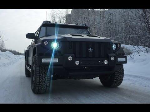 Комбат Т-98 (Лучший Российский внедорожник)