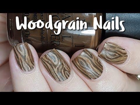 Woodgrain Nail Art Tutorial