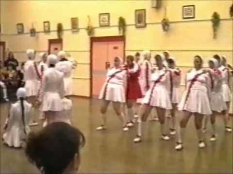 Rubettes Dance Troupe - Red & White (97/98)