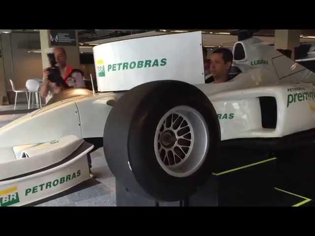 Simulador F1 max TOP MOTION SuperCarros Petrobras Premia