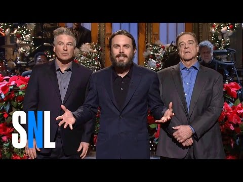 Casey Affleck Christmas Monologue - SNL
