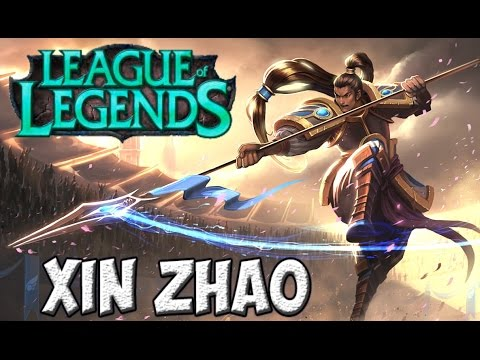 видео: xin zhao - Воин без страха и упрёка | league of legends