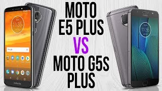 Moto E5 Plus vs Moto G5s Plus (Comparativo)