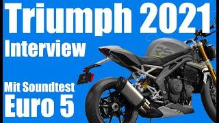Triumph Motorrad - Neuheiten 2021 [Euro 5 Sound im Griff?] Motovlog
