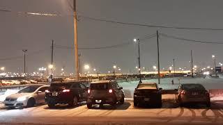 منظر هبوط الطائرات في مطار ترودو.يارب إجعل هذه اللحظة من نصيب كل راغب في الهجرة إلى كندا