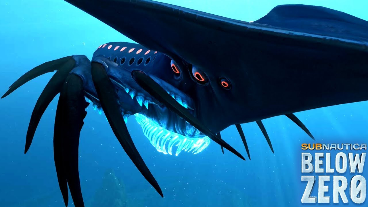 SHADOW LEVIATHAN IS IN THE GAME! || Subnautica Below Zero