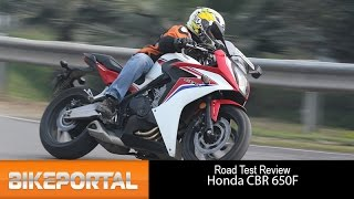 Honda CBR 650F Test Ride Review - Bikeportal