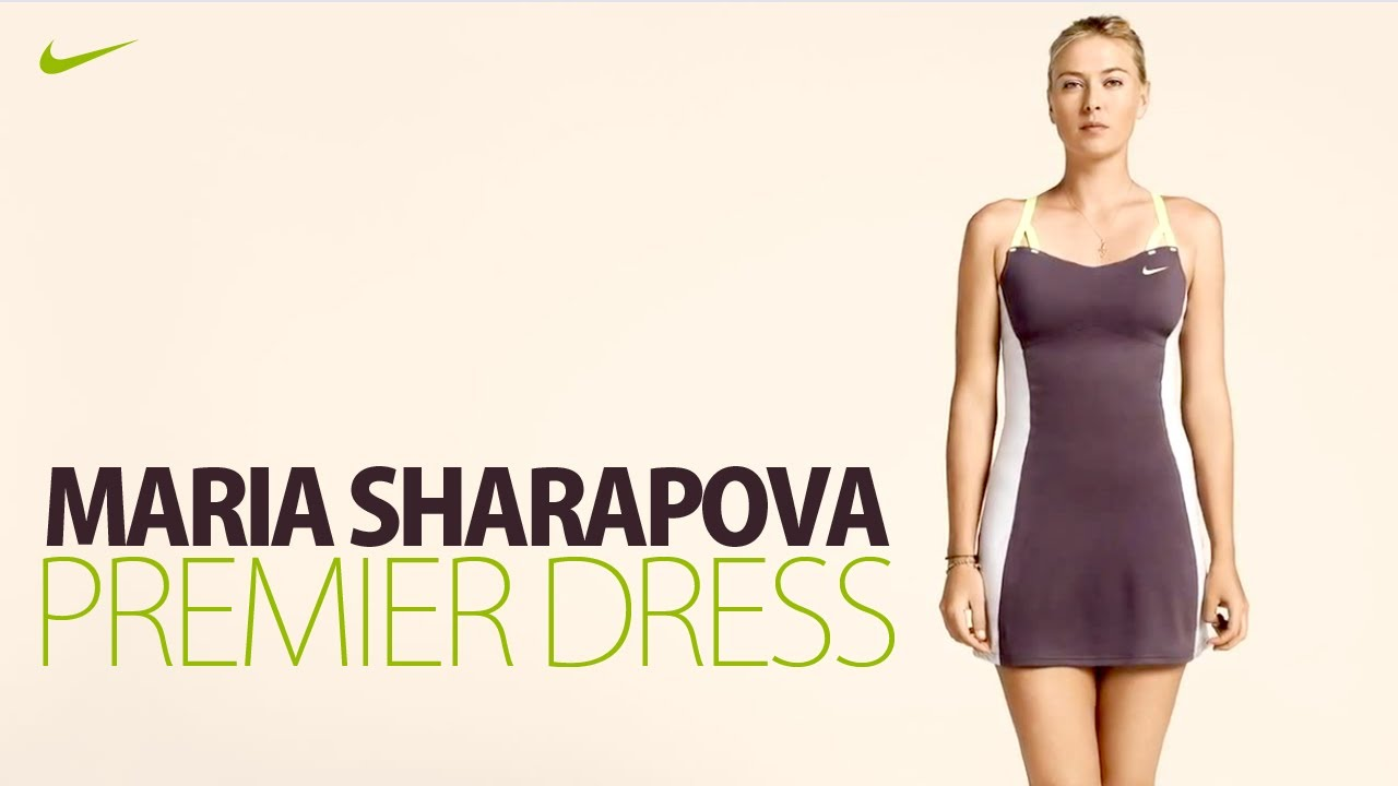 Maria Sharapova with Nike