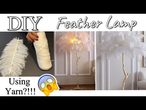 how-to-use-yarn-to-diy-a-feather-lamp|-diy-floor-lamp