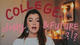 DO I REGRET COLLEGE? | my experience, classes and future.