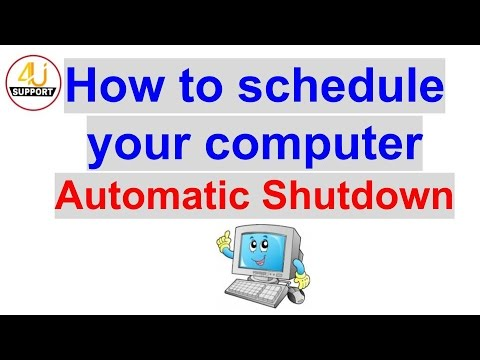 How to schedule automatic task in your computer