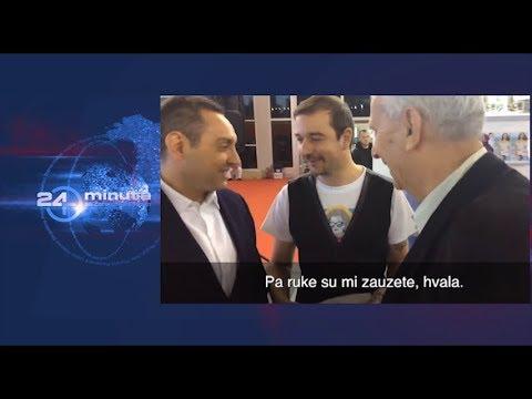 Ministar Vulin odbio poklon majicu od Dojčinovića iz KRIKa