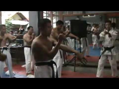 Okinawa Sanchin di Seminar Kushin ryu Kopo Bandung