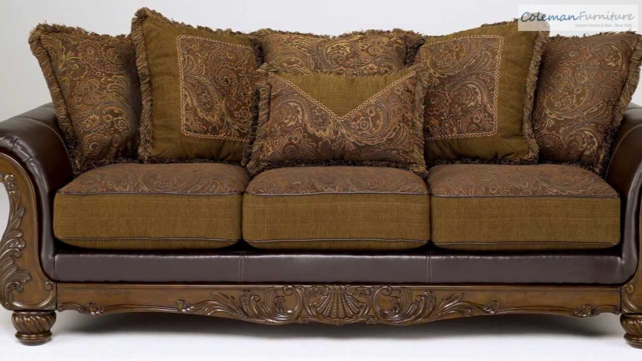 Wilmington Walnut Living Room Collection from Signature ...