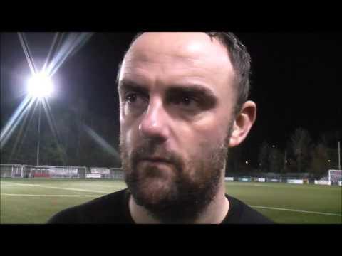Chris Hughes reacting to 3-3 thriller against TNS