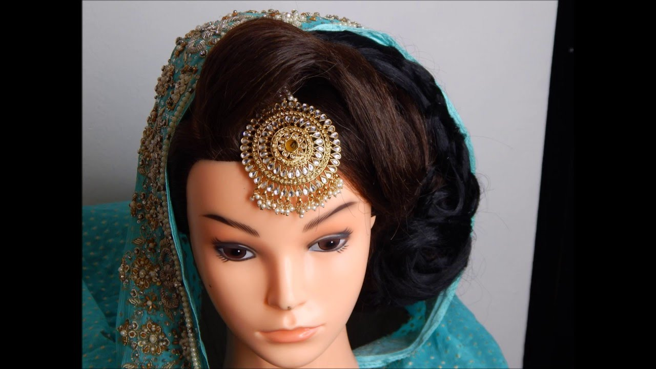asian bridal hairstyle