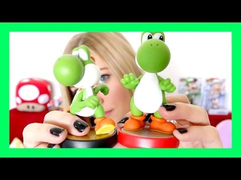New Super Mario Series Amiibo Comparison! | iJustine