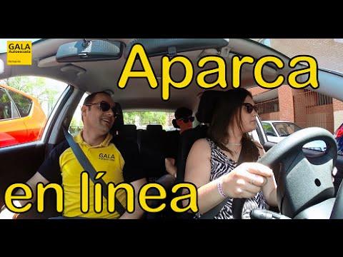 Autoescuela Gala: Aparcar coche en línea. Aparcamiento tiempo real