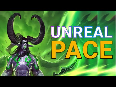 Unreal Pace   Demon Hunter   Hearthstone - Ashes Of Outland