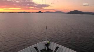 19800 Mph!   Hurtigruten Ship Travels 1615 Miles In 5 Min!   (amazing Video)