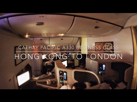 Cathay Pacific B777 Business Class Hong Kong to London