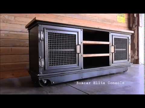 Vintage Industrial Furniture - Vintage Industrial Furniture - YouTube