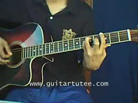 False Pretense (of The Red Jumpsuit Apparatus, GuitarTutee) - YouTube