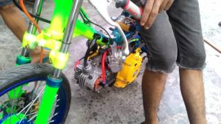 Setting jupiter 200cc bengkel KMT brandan