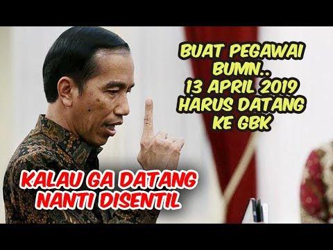 Fakta Pengerahan Pegawai BUMN Hadiri Kampanye Jokowi 13 April Di GBK