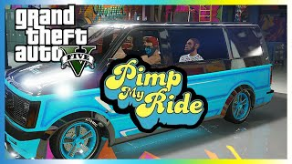 PIMP MY RIDE - GTA 5 LOWRIDER DLC (NEW CARS AND WEAPONS)