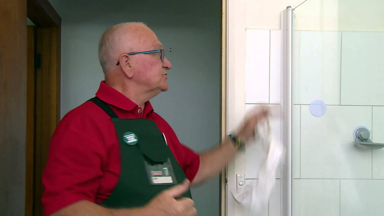 Preparing To Seal Inside A Shower Diy At Bunnings Youtube
