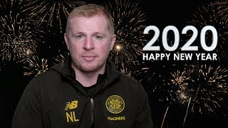 Happy New Year from Celtic Football Club