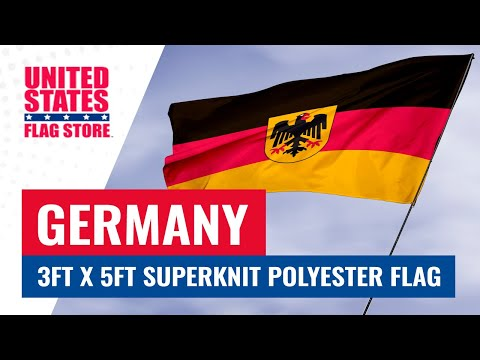 Germany State Ensign 3ft x 5ft Superknit polyester