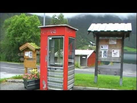 Telefonkiosken i Bjørke er verdensberømt!