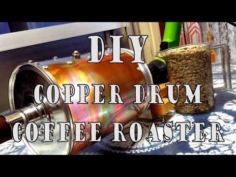 DIY Coffee Roaster (Copper Drum)