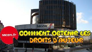 SACEM TUTO DROITS D'AUTEURS LEGALEMENT POUR DE LA MUSIC