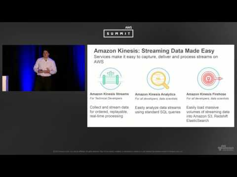 AWS New York Summit 2016: Introduction to Amazon Kinesis Analytics - Process Streaming Data with SQL