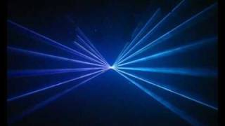 Lasershow played alive