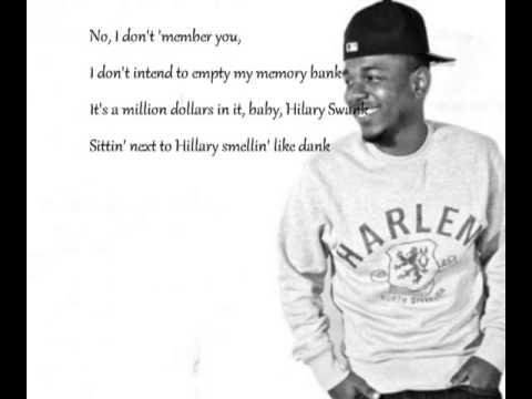 Bitch, Don't kill my vibe remix ft Jay-z ( lyrics on screen )