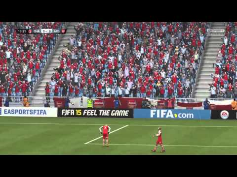 Jon Toral FIFA 15 goal from miles out