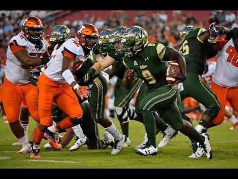 Football Highlights - #21 USF 47, Illinois 23