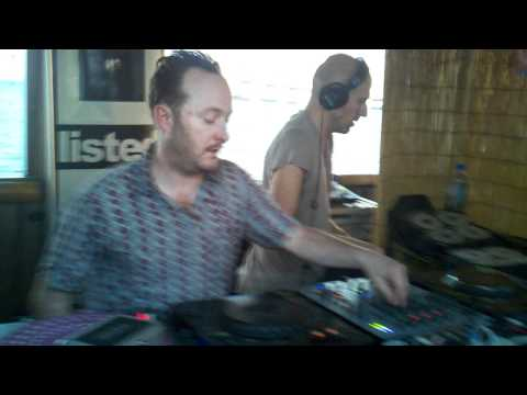 Tyrant (Craig Richards and Lee Burridge) at The Listed Boat Party