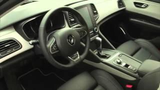 2015 Renault Talisman tests drive in Tuscany Interior Design   AutoMotoTV