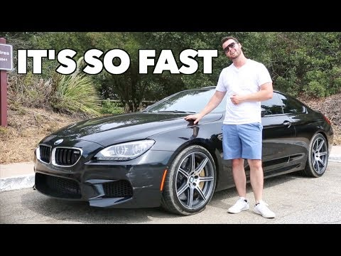 What It's Like To Drive A BMW M6 Competition!