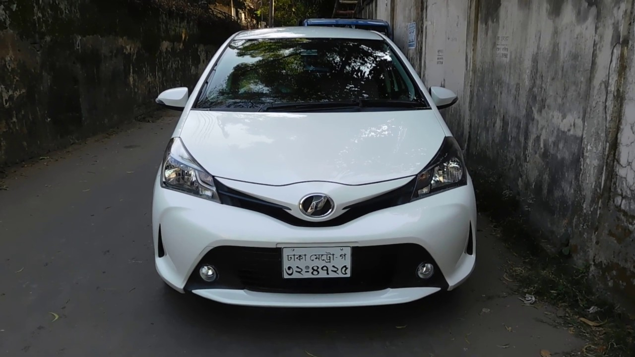 Toyota Vitz In Bangladesh Used Car Second Hand Car Toyota Corolla Youtube